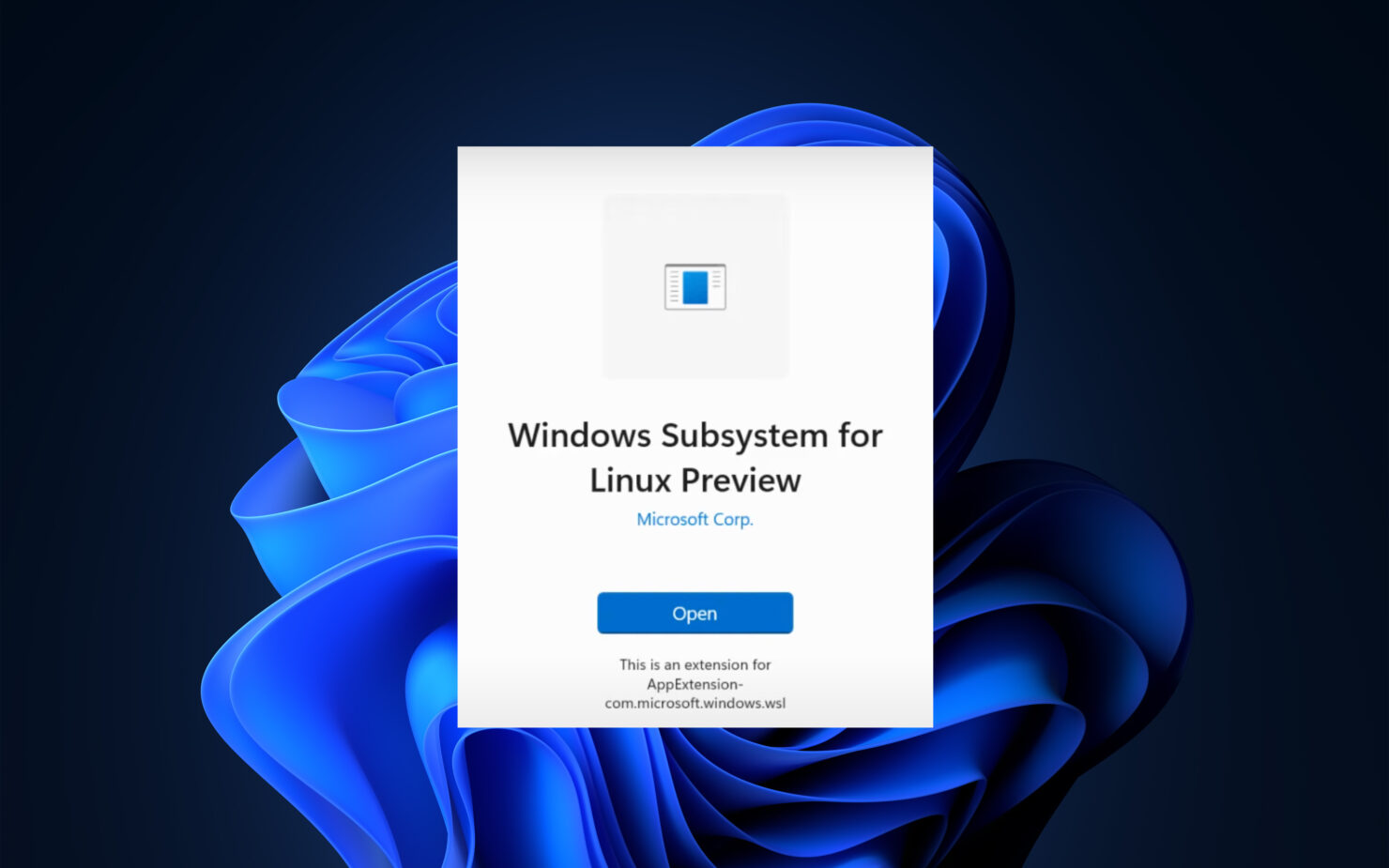 windows 11 wsl windows subsystem for linux
