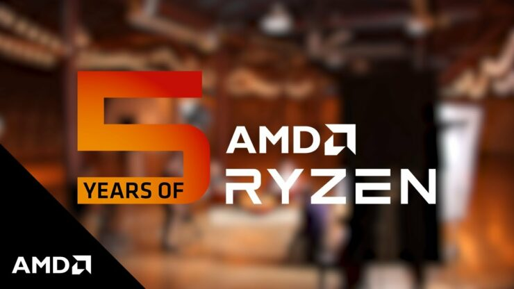 AMD Celebrates 5 Years of Ryzen, A Journey To Mainstream & Enthusiast CPU Leadership